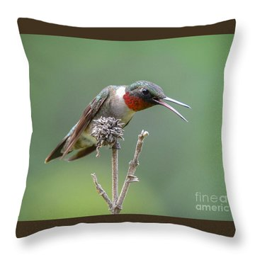 I Can Sing Too Throw Pillow