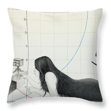 I Cannot Be Less Than Who I Am Throw Pillow