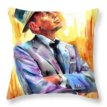 I Did It My Way Throw Pillow