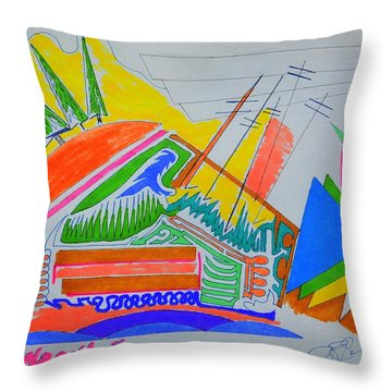 I Dig Vassily Throw Pillow by J R Seymour