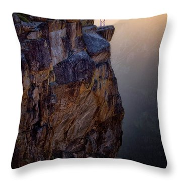 I Do Throw Pillow by Nicki Frates