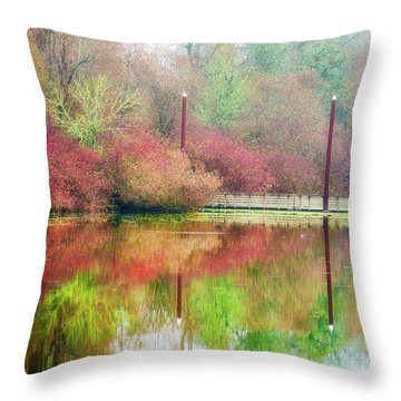 I Dream Of Autumn Throw Pillow