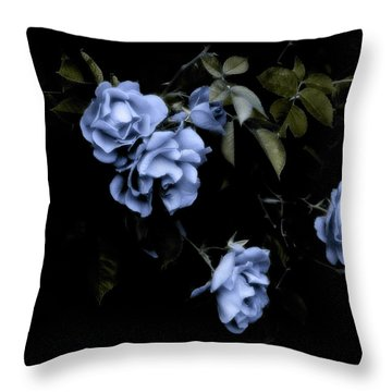 I Dream Of Roses Throw Pillow