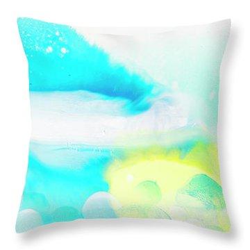 I Dream Of Sunny Days Ahead Throw Pillow