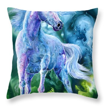 I Dream Of Unicorns Throw Pillow