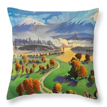 I Dreamed America Throw Pillow