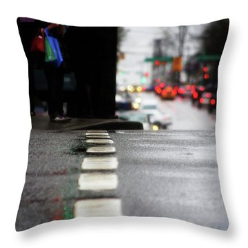 I Feel For Color Throw Pillow