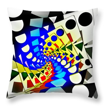 I Fell Way Too Deep Throw Pillow