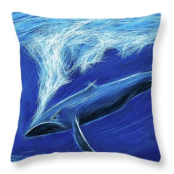 I Fight For Clean Waters Throw Pillow