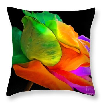 I Give You My Love Throw Pillow