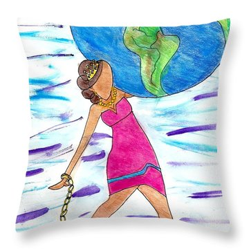 I Got This Throw Pillow by Diamin Nicole