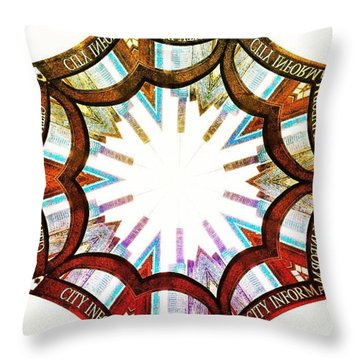 I Got Your City Right Here Throw Pillow