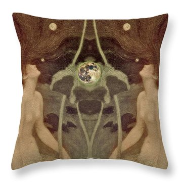 I Have Heard The Mermaids Singing Throw Pillow