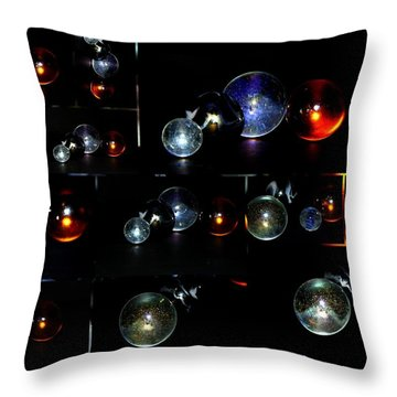 ...i Have Lost My Marbles Throw Pillow by Martina Fagan