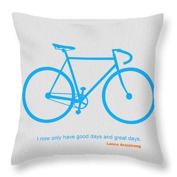 Vintage Bike Throw Pillows