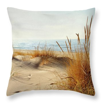 I Hear You Coming  Throw Pillow