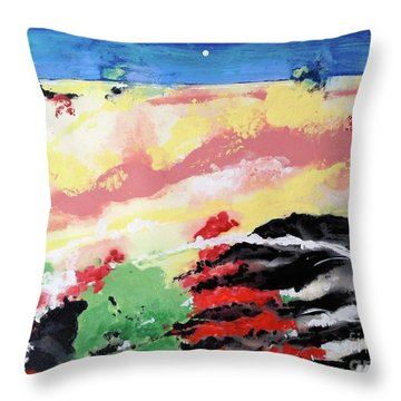 I Know You're Out There Somewhere Throw Pillow