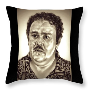 I Like Me Throw Pillow by Fred Larucci