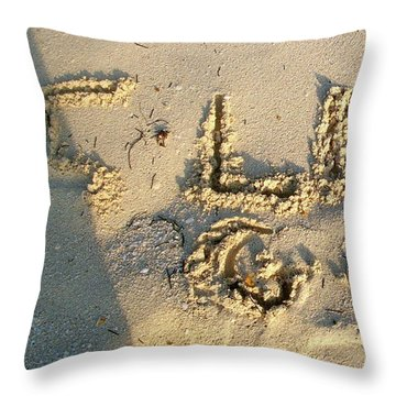I Love God Throw Pillow