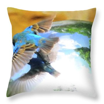 I Love Me Throw Pillow by David Arment