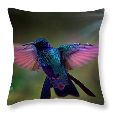 Throw Pillow featuring the photograph I Love Tom Thumb by Al Bourassa