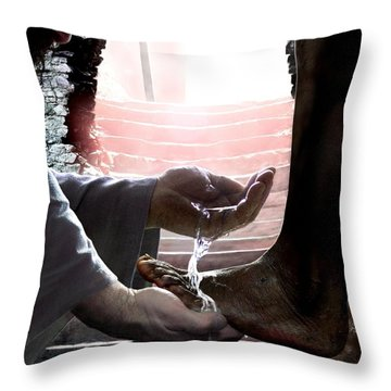 I Love You Throw Pillow by Bill Stephens