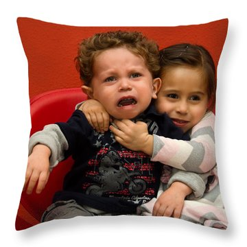 I Love You Brother Throw Pillow