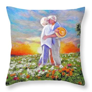 I Love You Darling Throw Pillow