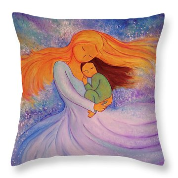 I Love You More Then The Milky Way Throw Pillow