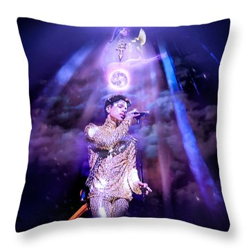 I Love You - Prince Throw Pillow