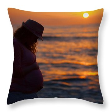 I Loved You Before I Met You Throw Pillow