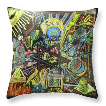 I M H O O O T E P Throw Pillow