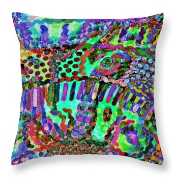 I Might Be Dreaming Throw Pillow