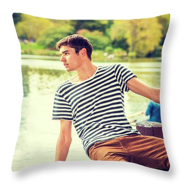 I Missing You And Waiting For You Throw Pillow