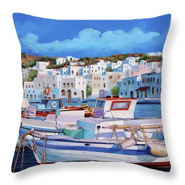 I Mulini Dal Porto Throw Pillow