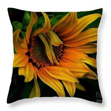 Throw Pillow featuring the photograph I Need A Comb by Elfriede Fulda
