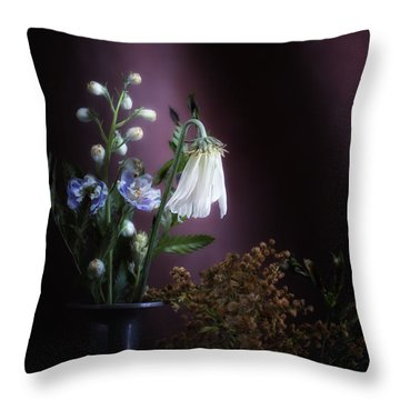 I Once Was Beautiful Throw Pillow