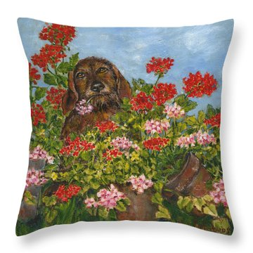 I Picked It Just For You Throw Pillow