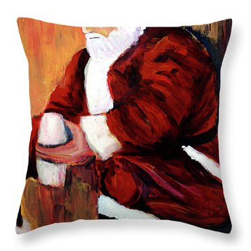 I Pray For The Strength To Make Things Better Throw Pillow