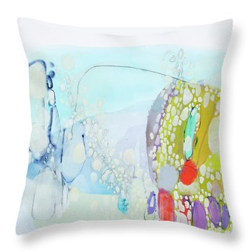 I Said Yes In My Head Throw Pillow