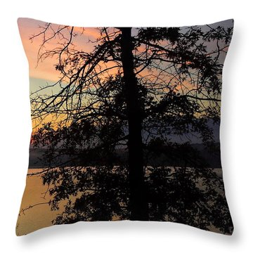 I Saw Her Standing There - Silhouette Of A Dream  Throw Pillow