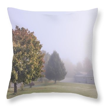 I Scent The Morning Air Throw Pillow