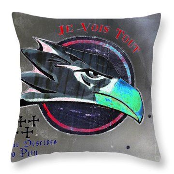 I See All Throw Pillow by David Lee Thompson