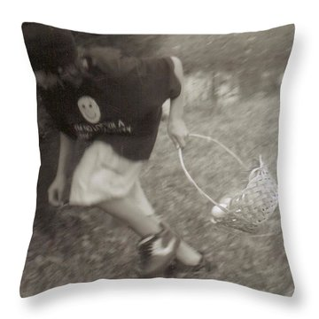 I See Another Egg... Throw Pillow