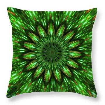 I See Green Throw Pillow