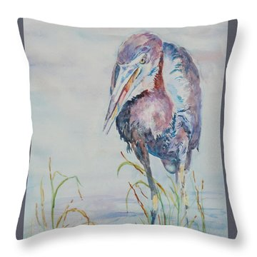 I See Lunch Throw Pillow