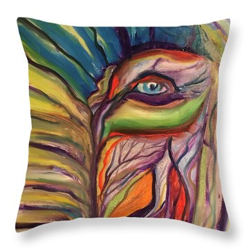 The Secret Keeper Throw Pillow