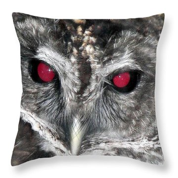 I See You Throw Pillow by Karen Wiles