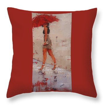 I See You Throw Pillow by Laura Lee Zanghetti