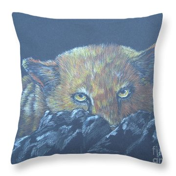 I See You Throw Pillow by Laurianna Taylor